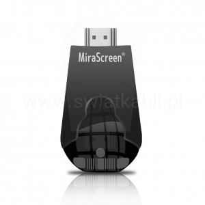 MiraScreen K4 czarny 2.4GHz AirPlay MiraCast DLNA