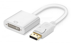 Adapter DP DisplayPort na DVI Mac Book iMac