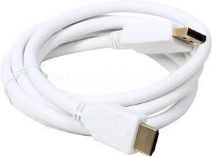 KABEL z DP DisplayPort na HDMI męskie 1,8m MAC