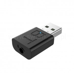 Adapter bluetooth 5.0 z wejściem jack 3,5mm