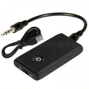 Transmiter Odbiornik Nadajnik Adapter Audio Bluetooth 5.0 JACK 3,5mm AUX B10S