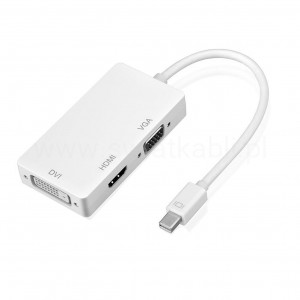 mini DP DISPLAYPORT thunderbolt na VGA / DVI / HDMI